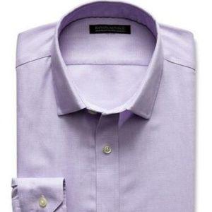 Banana Republic Tailored Dress Shirt XL Violet